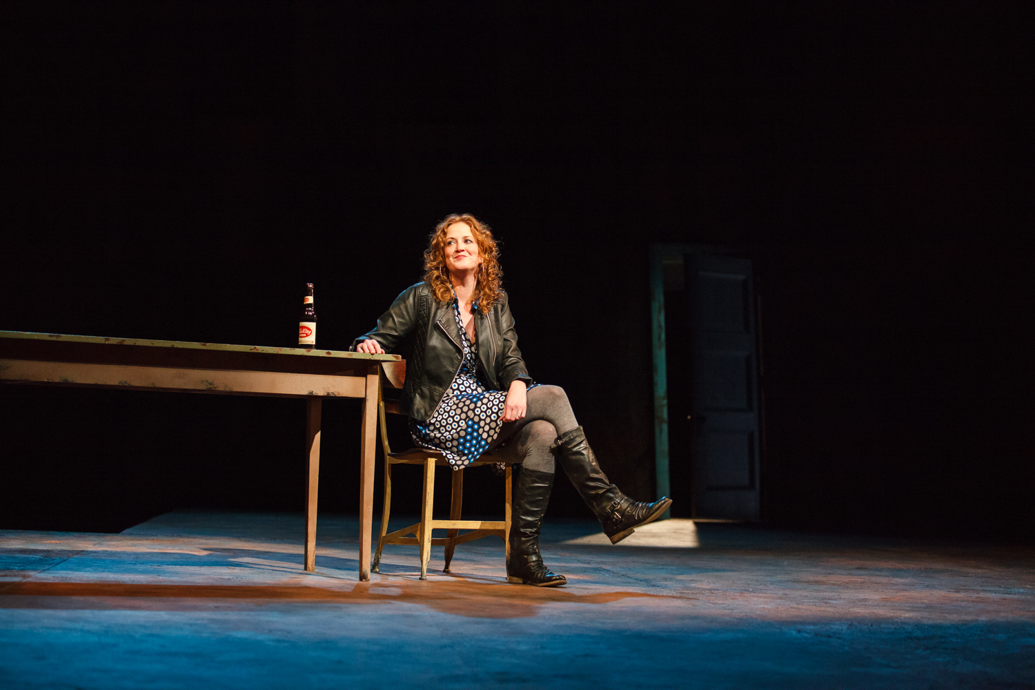 Wendy Stetson At the Vanishing Point Actors Theatre of Louisville, 2015 Photo by Bill Brymer